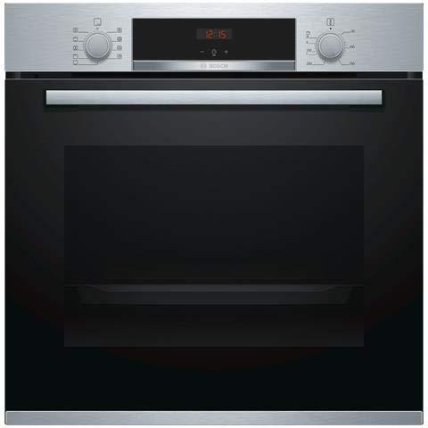 Bosch - Forno Elettrico da Incasso HBA534BS0 Capacità 71 L Multifunzione Ventilato Colore Acciaio...