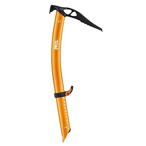 Petzl Adultos gullyice Piolet, Naranja, 45cm