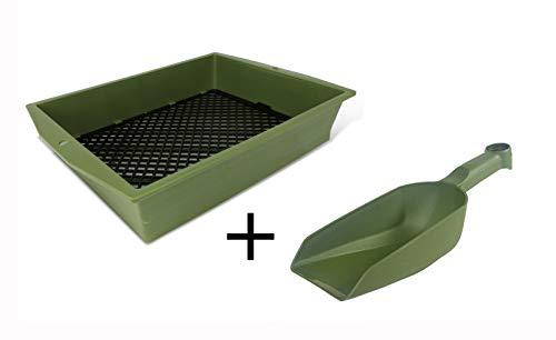 protanic 2er-Set Sieb mit Verstellbarer Maschenweite & Volumenschaufel