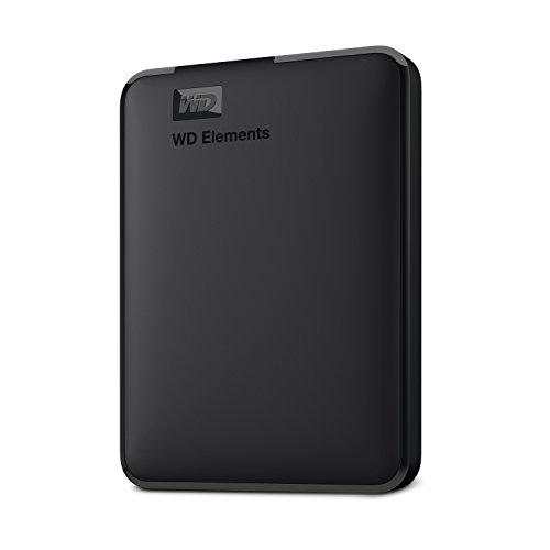 WD Elements Disque Dur Portable Externe -USB 3.0 3TB Noir