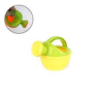 Hilai 1pc No tóxico regadera de Juguete de plástico Medio Ambiente del baño del bebé Juguetes de los niños Juguetes de Playa de riego Bote Puede Juguetes (Color al Azar)