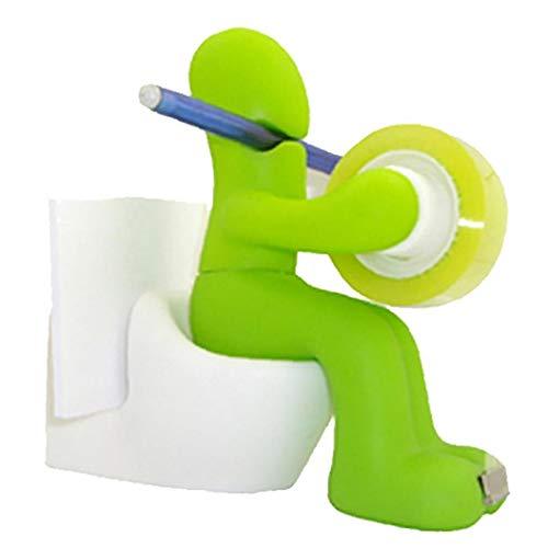 Aisoway 1 Set Tape Dispenser del Supporto della Penna della Clip di stoccaggio Set Forniture per...