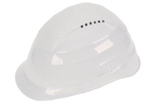 Wolfcraft 4855000 4855000-1 Casco Protector Blanco, DIN EN 397:2005-05 (CE)