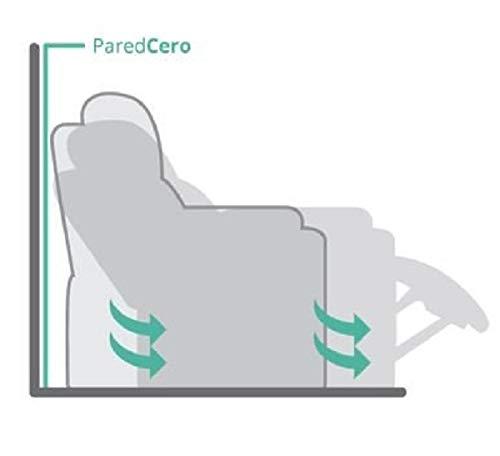 Poltrona relax, estremamente comoda, interamente in PU anti-rottura con sistema 'Parete Zero'
