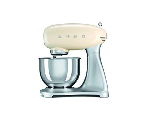 SMEG Impastatrice planetaria, Robot da Cucina SMF01CREU, Crema