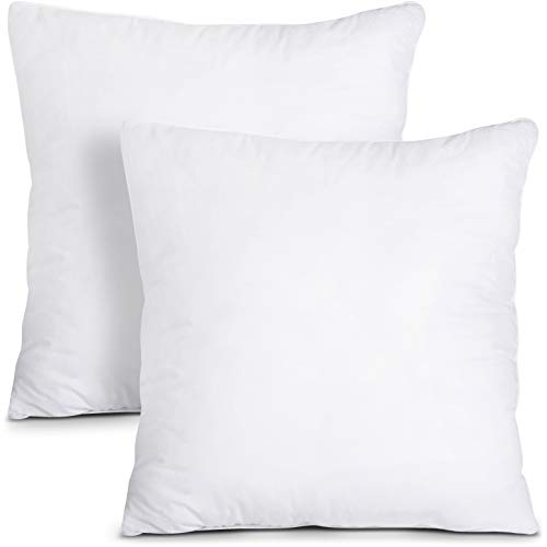 Utopia Bedding Set di 2 Cuscini - Imbottitura per Cuscini 40 x 40 cm - Cuscini Divano - Interno per Cuscini - Cuscino Copri Policotone
