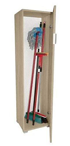 Klipick Porta Scope L cm 40 P cm 33 H cm 151. Elementi in Finitura Olmo Astoria. Spessore 16mm ...