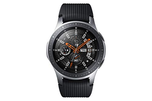 Samsung SM-R800 Galaxy Montre, 46 mm Argent- Import 4
