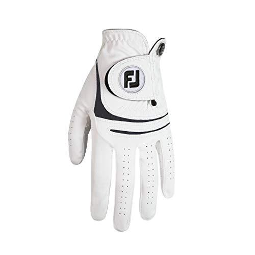 Footjoy 66245Guanto da Golf, Uomo, Uomo, 66245, Bianco, M