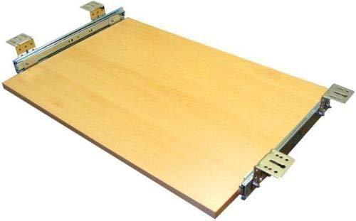 EisenRon Tastaturauszug Buche Dekor 60x30 cm Nutzhöhe 47mm Schublade Auszug für Tastatur