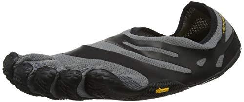 Vibram FiveFingers 16M0101 EL-X, Fitnessschuhe Herren, Mehrfarbig (Grey/black), 41 EU