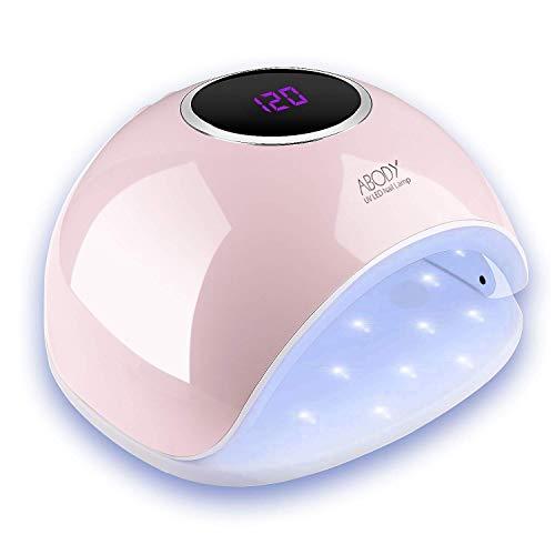 Abody Lampada Unghie UV LED da 48W, Fornetto Unghie Professionale per Manicure e Pedicure con...