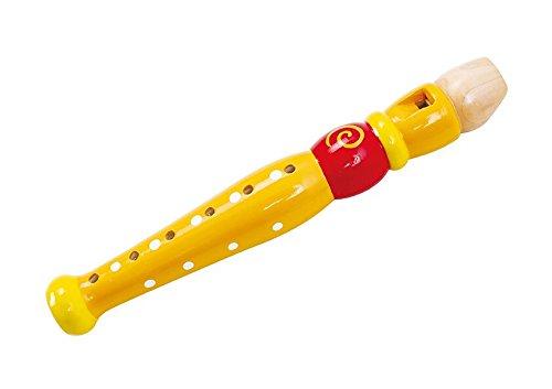 Flauta de juguete de madera. Instrumento Musical para niños a Partir de 3 años