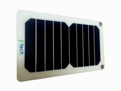 IFITech SLUSB6-208 Solar Flexi Portable Charger (Black)