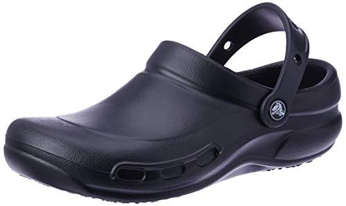 crocs Bistro Women US 6 Black Clogs