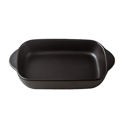 Piccole teglie da forno rettangolari in ceramica con manico per forno, teglia lasagna, teglia...