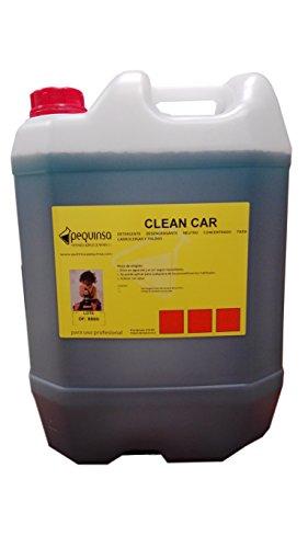 Detergente desengrasante neutro concentrado para carrocerías y lonas. Envase 25 litros.