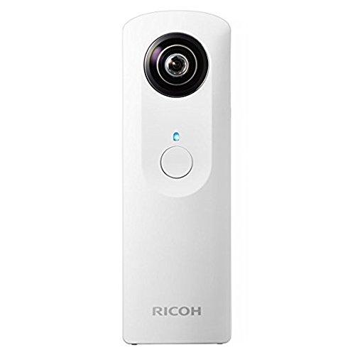 Ricoh Theta M15 Digitale 360°, 6.4 MP, Video Full HD 15 fps, Memoria Interna 4 GB, Bianco