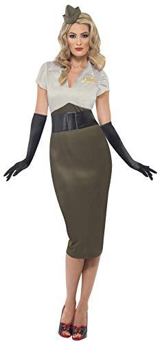 Disfraz militar para mujer, talla S (36 -38) (38816)