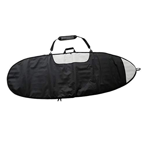 Baoblaze Funda de Tabla de Surf Resistente con Cremallera, Protección Completa de Surfboard Snowboard con Asa de Transporte
