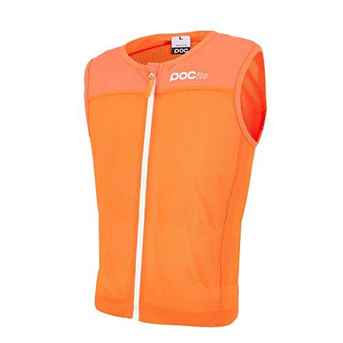 POC Pocito Vpd Spine, Paraschiena Unisex-Bambini, Arancio (Fluorescent Orange), S