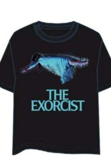 LAST LEVEL Camiseta el Exorcista L Camisa Cami, Multicolor, Adultos Unisex