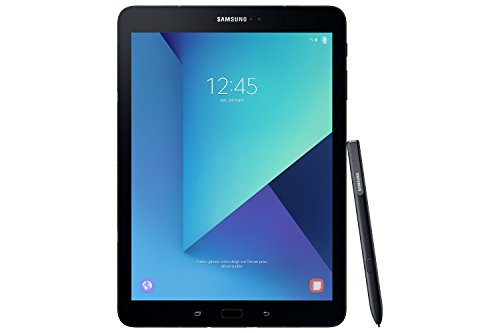 Samsung Galaxy Tab S3 T820 24,58 cm (9,68 Zoll) Touchscreen Tablet PC (Quad Core 4GB RAM 32GB eMMC WiFi Android 7,0) schwarz inkl S Pen