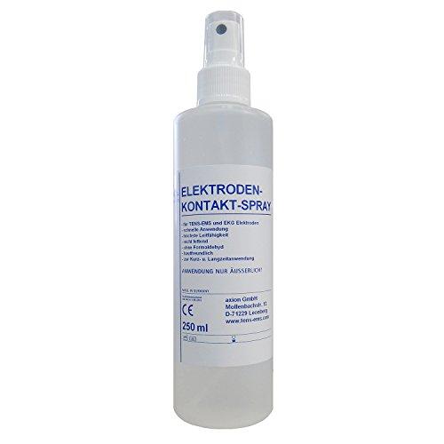 Reinigungs- und Kontaktspray für TENS-Behandlung.
