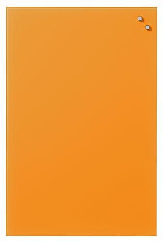 Naga 40x 60lavagna magnetica in vetro, colore: arancione