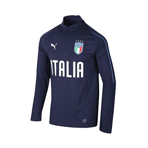 FIGC 1/4 Zip Training Top Blu-azzurro 18/20 Italia Puma L Blu-azzurro