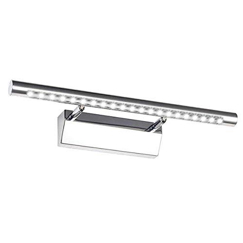 GreenSun - Lampada LED per Illuminazione Quadri, 5 W, 40 cm, Regolabile in Acciaio Inox, 21 SMD5050,...
