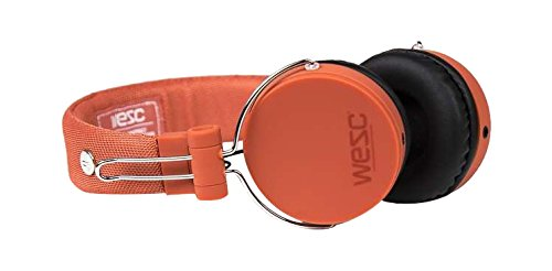 WESC M30 On-Ear Wired Headphone orange
