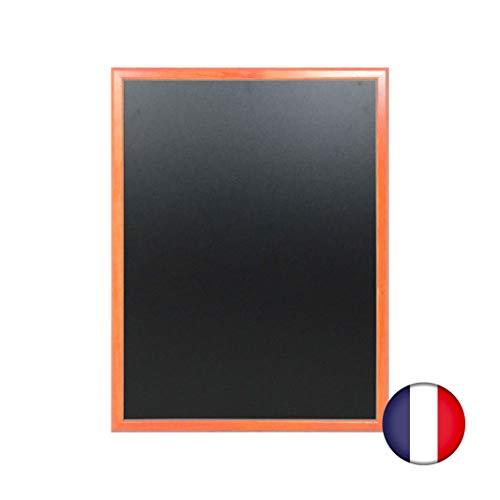 Lavagna da parete in legno colore arancione dimensioni 86 x 66 cm - Fabbricazione francese
