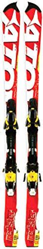 Atomic Rester FIS SL Jr + XTO 12Sci Corsa Slalom Junior, Red - red/white, 137