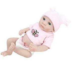 Realista Muñeca recién nacida con ropa Sombrero Pañal Recién nacido Bebé viviente Muñeca realista Bebé Niños pequeños…