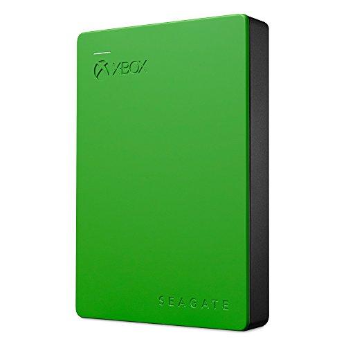 Seagate Game Drive HDD Esterno per Xbox Portable 4TB, Nero/Verde