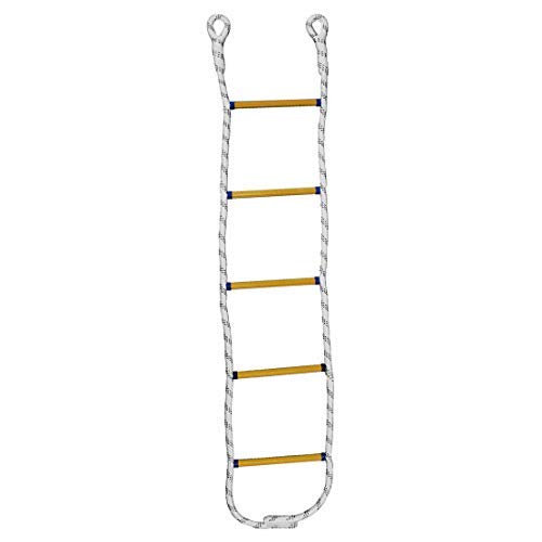 Yolyoo Climbing Rope Ladder Playground Swing Sets Tree House Accessories for Kids 5.9 Feet