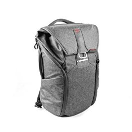PeakDesign BB-20-BL-1 Universal Backpack Canvas Synthetic, Charcoal, 38.1cm (15-Inch), 20L