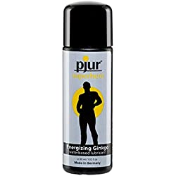 Pjur Super Hero - Lubricante Vigorizante, Transparente - 30 ml