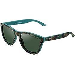 CLANDESTINE Model Camouflage Dark Green - Gafas de Sol Polarizadas Hombre & Mujer