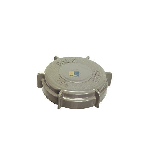 Copertina originale cappuccio rotante di chiusura sale per lavastoviglie Bauknecht 481246279903