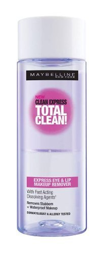 Maybelline Clean Express Total Clean Make-Up Remover, 70ml