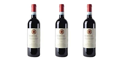 3 Bottiglie di Dolcetto d'Alba DOC | Cantina Renato Corino | Annata 2017