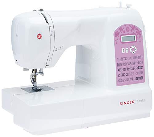 Singer Starlet 6699 Macchina da cucire elettronica - Tavolo prolunga e custodia inclusi - 100 punti...