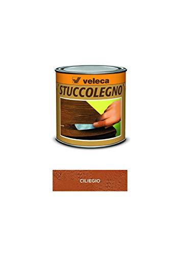 Veleca 8002417020369 Stuccolegno, Stucco in Pasta per Legno, Ciliegio