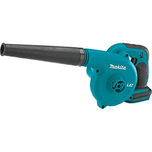 The Makita DUB182Z 18V cordless leaf Blower weighs only 1.7kgs and therefore it is not designed to handle heavy work. It can be used as a vacuum or a leaf blower depending on your requirements but you will need to buy the appropriate vacuuming accessories.