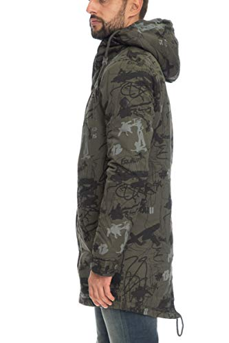 Only Giaccone Uomo Scott Parka Sons Verde Militare