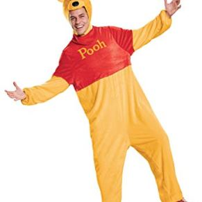 Winnie the Pooh Deluxe Adult Fancy dress costume X-Large