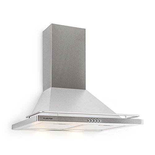 Klarstein Timea Cappa Aspirante da cucina a parete in acciaio (60 cm ...