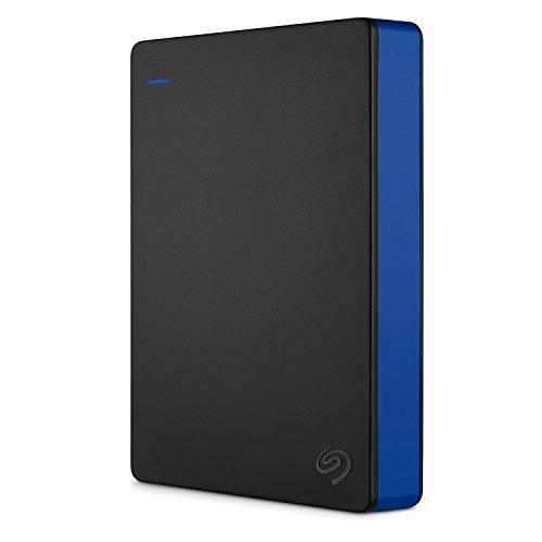 Seagate STGD4000400 - 4 TB Game Drive pour PS4, USB 3.0 Portable 2.5' Disque dur externe pour PlayStation 4 - Black/blue